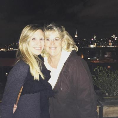 Erin Kelly NYC w mom